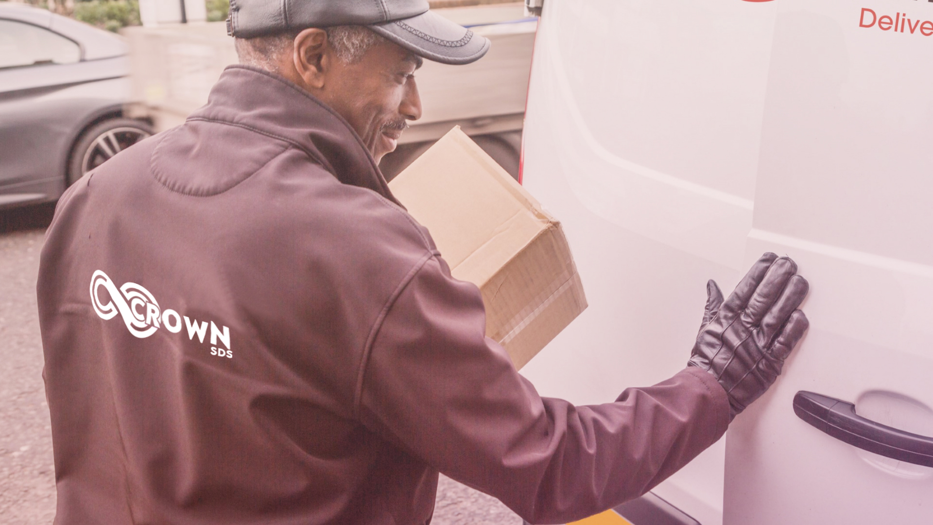 Crown Couriers driver