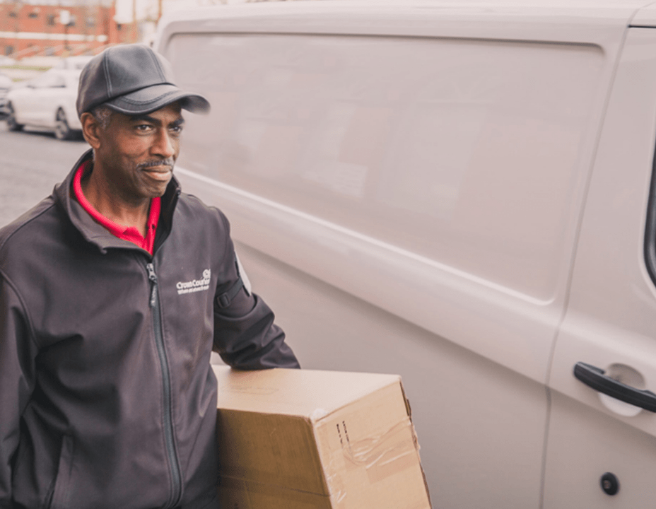 Crown SDS delivery driver