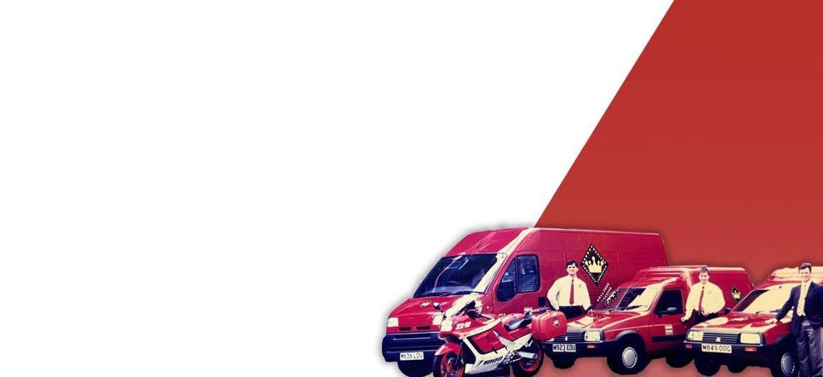 delivery vans from Crown Couriers to Crown SDS