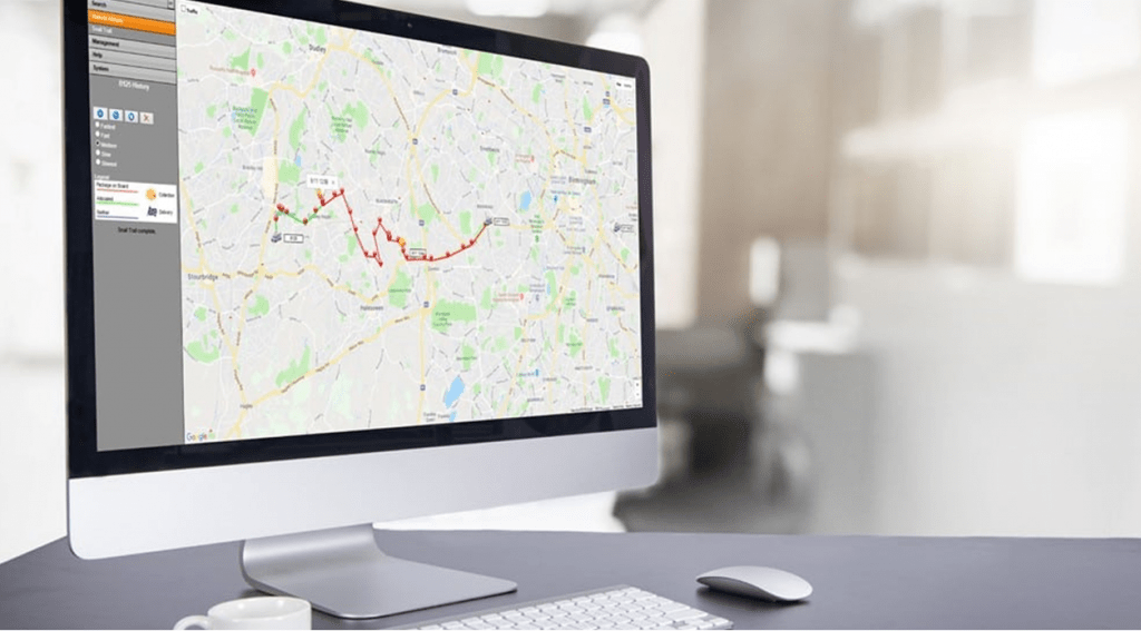 Crown SDS delivery tracking and routing