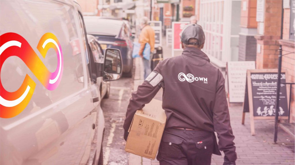 courier jobs with Crown SDS