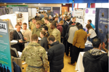 Crown promotes driving jobs at ex-service event