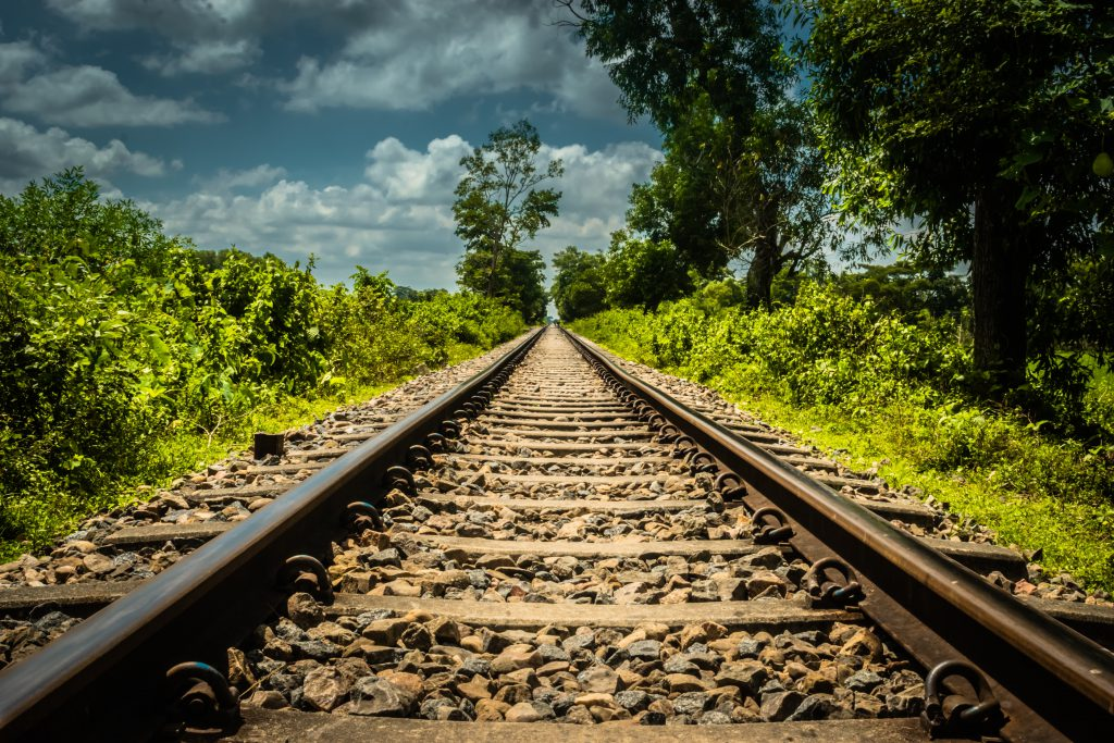 rail courier service
